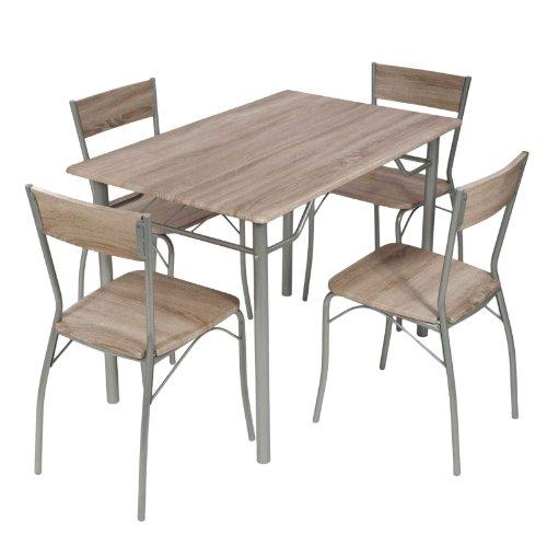 Esstisch mit 4 Stühle von MACO + Esstisch 110x70 cm Versandkostenfrei