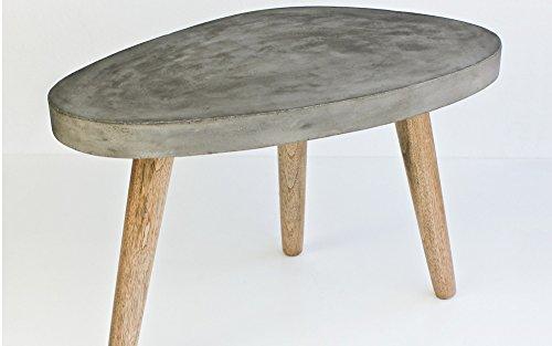 excl baidani designer couchtisch small stone 60 x 37 cm. Black Bedroom Furniture Sets. Home Design Ideas