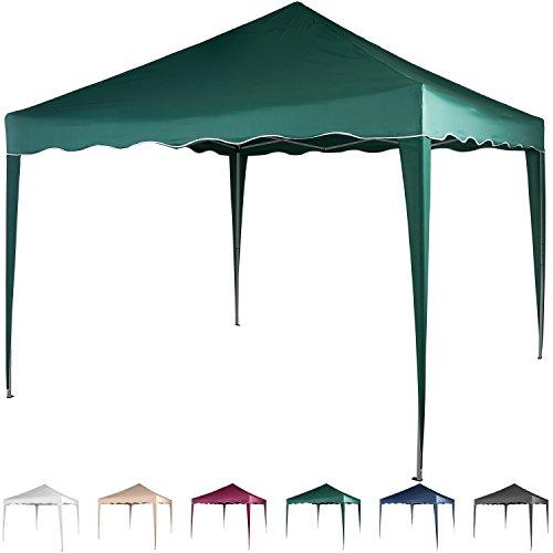 faltpavillon 3x3 m wasserdicht farben w hlbar inkl. Black Bedroom Furniture Sets. Home Design Ideas