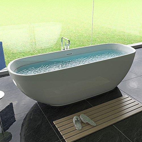 freistehende badewanne acryl freistehend wanne wei badewanne 0 m bel24. Black Bedroom Furniture Sets. Home Design Ideas