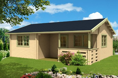 gartenhaus falun c 70 blockhaus 780 x 595 cm holzhaus 70 mm ferienhaus holz neu m bel24. Black Bedroom Furniture Sets. Home Design Ideas