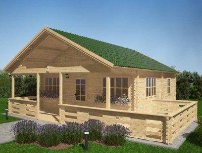 Gartenhaus - Ferienhaus Eiben 36m²+14m²