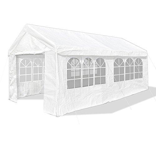 JOM 127115 Pavillon, 3x 6m, Farbe: weiß