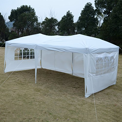 gartenpavillon partyzelt bierzelt pavillon gartenzelt hochzeit festzelt zelt 3 x 6 m farbwahl. Black Bedroom Furniture Sets. Home Design Ideas