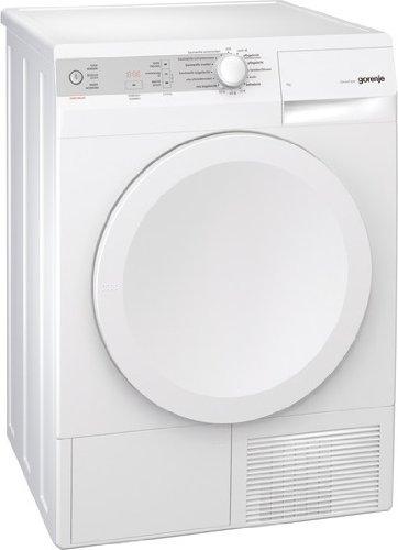 Gorenje D 7462 J Kondenstrockner / A-20% / 0.38 kWh / 7 kg / LED-Display / SensorCare-Trocknungssystem / weiß