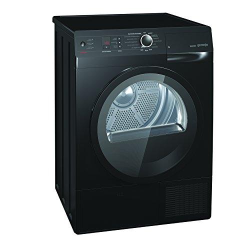 gorenje d 85f66 nb kondenstrockner fl a 8 kg schwarz wrmepumpentechnologie iontech ionensystem. Black Bedroom Furniture Sets. Home Design Ideas