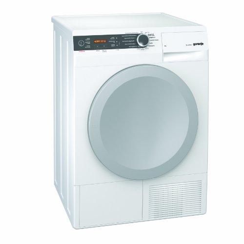 Gorenje D 8666 N Kondenstrockner FL/A+++/8 kg/weiß/Wärmepumpentrechnologie/IonTech-Ionensystem/Knitterschutz