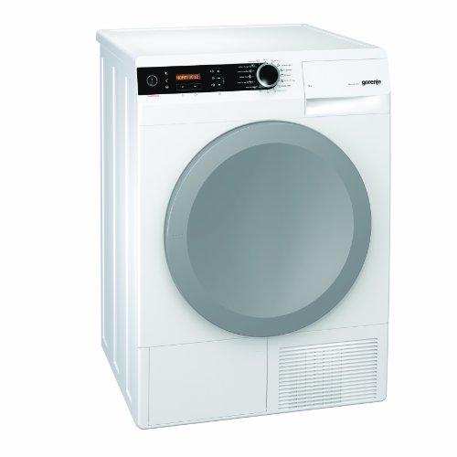 Gorenje D 9866 E Kondenstrockner FL / A+++ / 9 kg / weiß / Wärmepumpentechnologie / Dampftrocknen / IonTech-Ionensystem