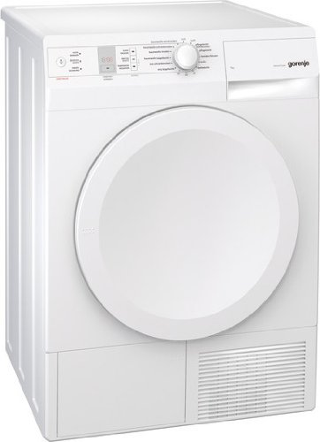 Gorenje D744BJ Kondenstrockner / B / 7 kg / weiß / reduzierte Trocknungstemperatur / LED Display