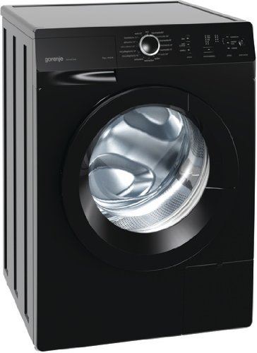 Gorenje W 7243 PB Waschmaschine FL/A+++/7 kg/1400 UpM/schwarz/AquaStop/SensoCare-Waschsystem/Quick 17/Colour Collection