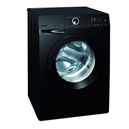 Gorenje W 8543 TB Waschmaschine FL/A+++/8 kg/1400 UpM/schwarz/Totaler AquaStop/SensoCare-Waschsysteme/VitaProgramme/Colour Collection