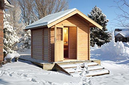Gartensauna Saunahaus Mainz 2 aus dem Hause Well Solutions