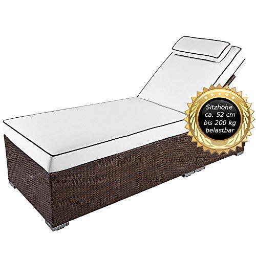 hochwertige exklusive 5 sterne xxl premium liege verona high mit 12 cm auflage mit. Black Bedroom Furniture Sets. Home Design Ideas
