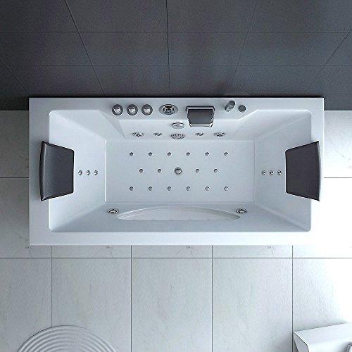 home deluxe laguna whirlpool verschiedene modelle wei 180x90x55cm 0 m bel24. Black Bedroom Furniture Sets. Home Design Ideas