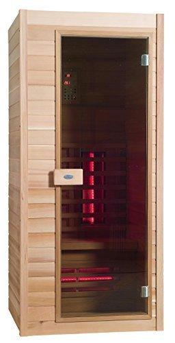 infrarot sauna nobel 90 hemlock holz mit duoflex strahlern. Black Bedroom Furniture Sets. Home Design Ideas