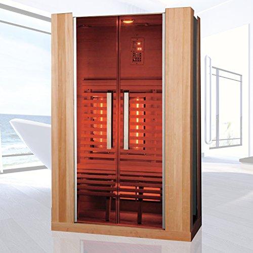 """Infrarotkabine """"La Palma"""" Infrarot Sauna für bis zu 3 Personen Wärmekabine Infrarotsauna"""