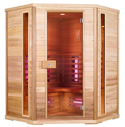 Infrarotkabine Nobel Sauna 150C mit Duoflex Strahlern Magnesiumoxid & Vollspektrum