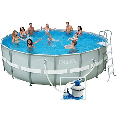 Intex 28332 ultra rondo ii frame pool set for Poolplane 549