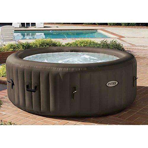 Mac Zwei Intex 28424–PureSpa Jet Massage Set mit Pumpe, Heizung, System Wasserreiniger, Verteiler, 191x 0.71cm