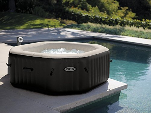 Intex 28454GN PureSPA Jet und Bubble Deluxe, Ø 201 x 71, Whirlpool