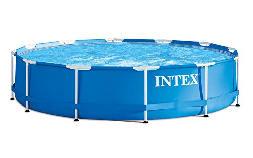 Intex 366x122 cm Schwimmbecken Swimming Pool Schwimmbad Frame Metal 28904