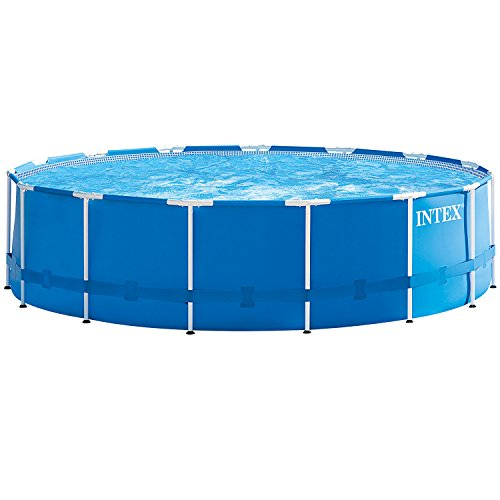 Intex frame pool zum aufstellen m bel24 for Garten pool 457x122