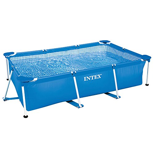 INTEX 28273NP Rectangular Frame Pool Blue, 450x220x85cm