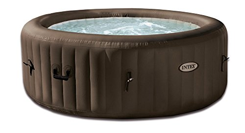 "Intex Whirlpool Pure SPA 77"" Jet Massage,, Braun, Ø 196 x 71cm"