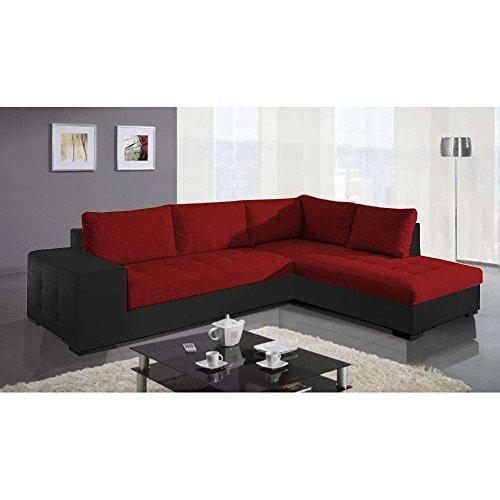 justyou paris i ecksofa polsterecke schlafsofa kunstleder. Black Bedroom Furniture Sets. Home Design Ideas
