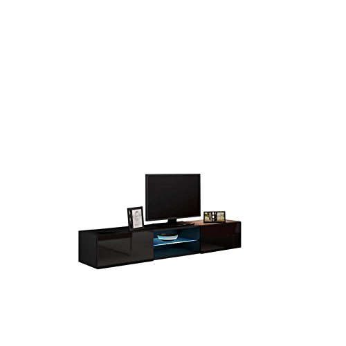 justyou vago glas lowboard tv board fernsehtisch farbe. Black Bedroom Furniture Sets. Home Design Ideas