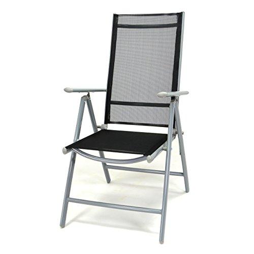 nexos klappstuhl komfortbreite hochlehner gartenstuhl campingstuhl liegestuhl sitzm bel garten. Black Bedroom Furniture Sets. Home Design Ideas