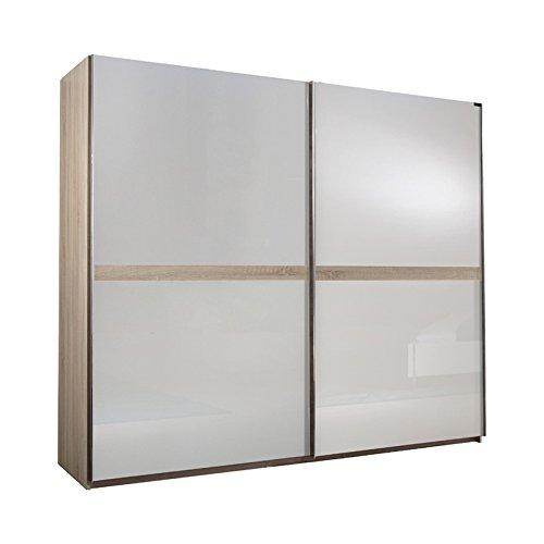 kleiderschrank white hochglanz wei eiche s gerau 250cm m bel24. Black Bedroom Furniture Sets. Home Design Ideas