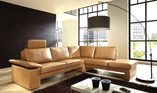 leder sofa couch ecksofa milano eckcouch sofagarnitur wohnlandschaft mit armteil funktion. Black Bedroom Furniture Sets. Home Design Ideas