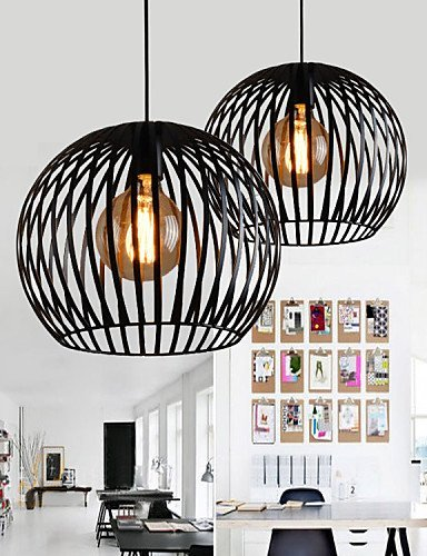 l h lampe max 60w rustikal designer andere metall pendelleuchten wohnzimmer schlafzimmer. Black Bedroom Furniture Sets. Home Design Ideas
