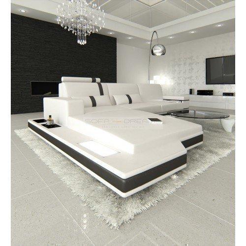 ledersofa messana l form m bel24. Black Bedroom Furniture Sets. Home Design Ideas