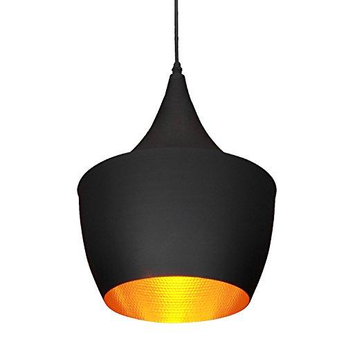 LightInTheBox 1Pcs 60W Retro Pendelleuchte für Wohnzimmer Schlafzimmer Esszimmer - Schwarz