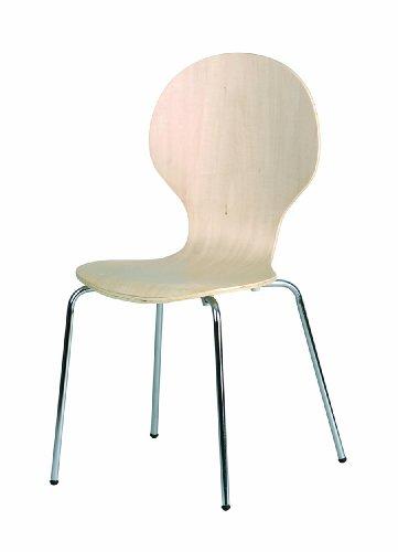 Links 30200600 Küchenstuhl Esszimmerstuhl Stuhl Set 4-teilig Esszimmerstühle 4 Stühle natur NEU