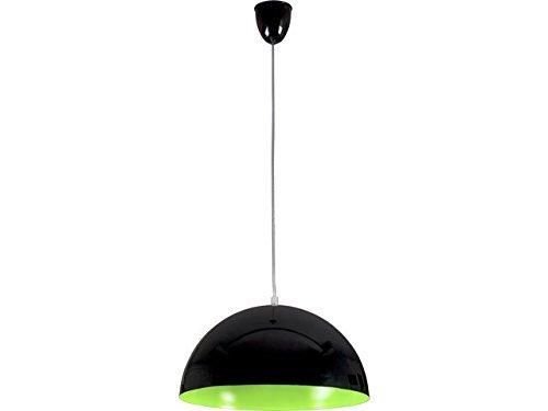 Pendelleuchte rund/Schwarz/Grün/E27 bis zu 100 Watt 230 V/Hängelampe 33cm/Pendellampe Esstisch Küche/Wohnzimmer Lampe modern/Beleuchtung innen