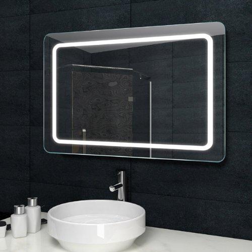lux aqua design lichtspiegel badezimmerspiegel led. Black Bedroom Furniture Sets. Home Design Ideas