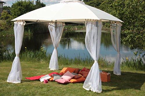 luxus pavillon catania 300x300 inkl 4 seitenschals von brema m bel24. Black Bedroom Furniture Sets. Home Design Ideas