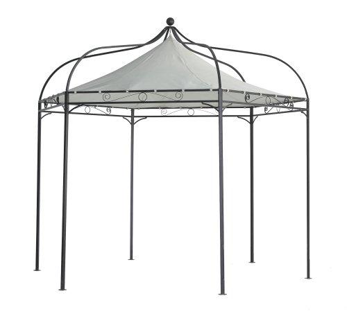 luxus pavillon modena 6 eckig 320cm dach wasserdicht cru. Black Bedroom Furniture Sets. Home Design Ideas