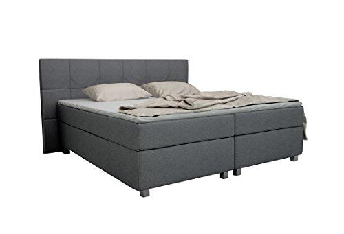mbelfreude boxspringbett mit fen boost first class hotelbett mit fen quadrate als steppung. Black Bedroom Furniture Sets. Home Design Ideas