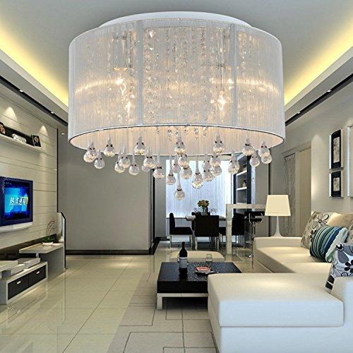 oofay light einfache und grazi se 6 st cke kristall deckenlampe stilvolle kristall deckenlampe. Black Bedroom Furniture Sets. Home Design Ideas