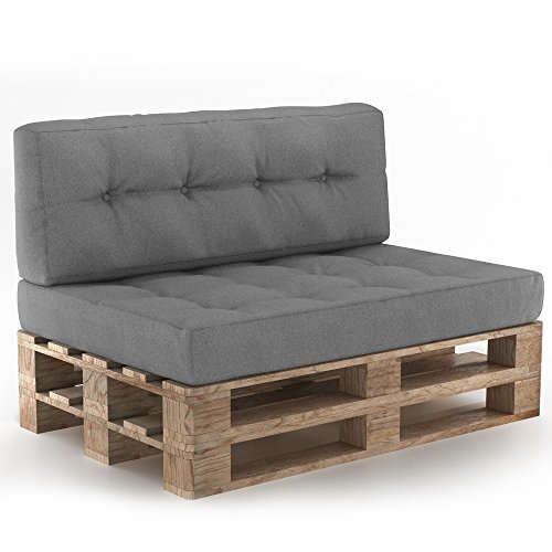 palettenkissen palettensofa palettenpolster kissen sofa polster outdoor indoor sitz r ckenkissen. Black Bedroom Furniture Sets. Home Design Ideas