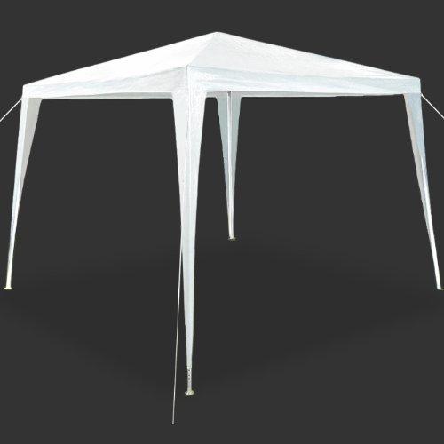 Deuba® Pavillon 3x3m Festzelt Partyzelt Gartenzelt weiß |9m² |wasserabweisend |einfache Montage |Stecksystem - Modellauswahl