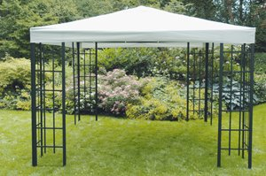 Pavillon-Gestell Royal anthrazit Aluminium