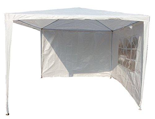 Pavillon Pavillion Gartenzelt Zelt Festzelt Partyzelt + zwei Seitenteile
