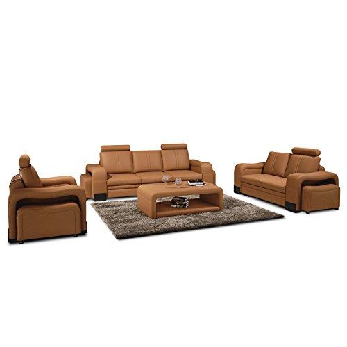 polstersofa lavita farbwahl sofagarnitur sessel 3 sitzer 2 sitzer hocker couchgarnitur echtleder. Black Bedroom Furniture Sets. Home Design Ideas