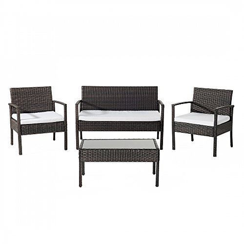 polyrattan gartenm bel set braun tivoli m bel24. Black Bedroom Furniture Sets. Home Design Ideas