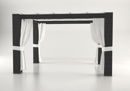 artelia pavillon paloma 3 3 m schwarz m bel24. Black Bedroom Furniture Sets. Home Design Ideas